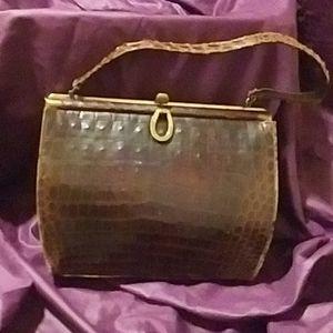 Deitsck leather purse